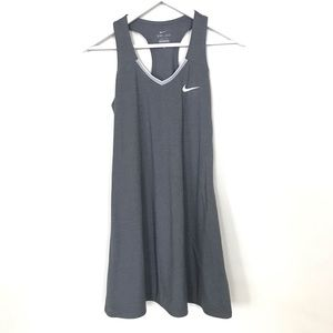 Nike Dri-Fit Grey Tennis Dress Small
